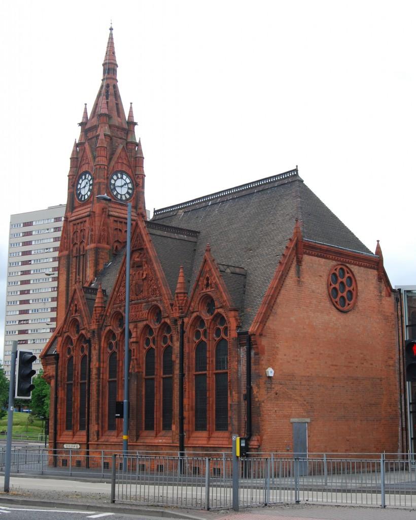 Spring Hill Library, Ladywood, Birmingham
