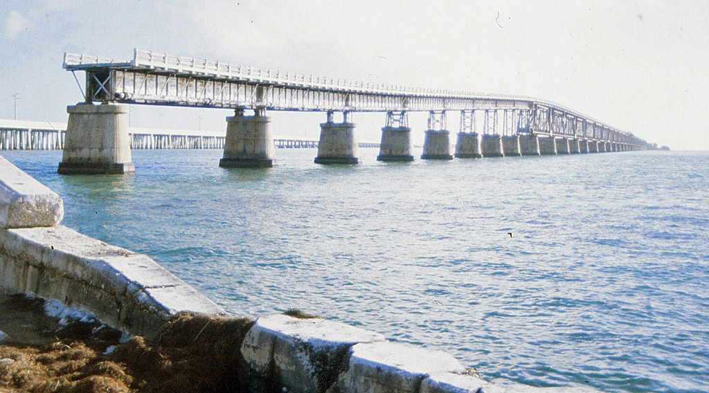 Florida Oversea Railway:  Bahia Honda Bridge