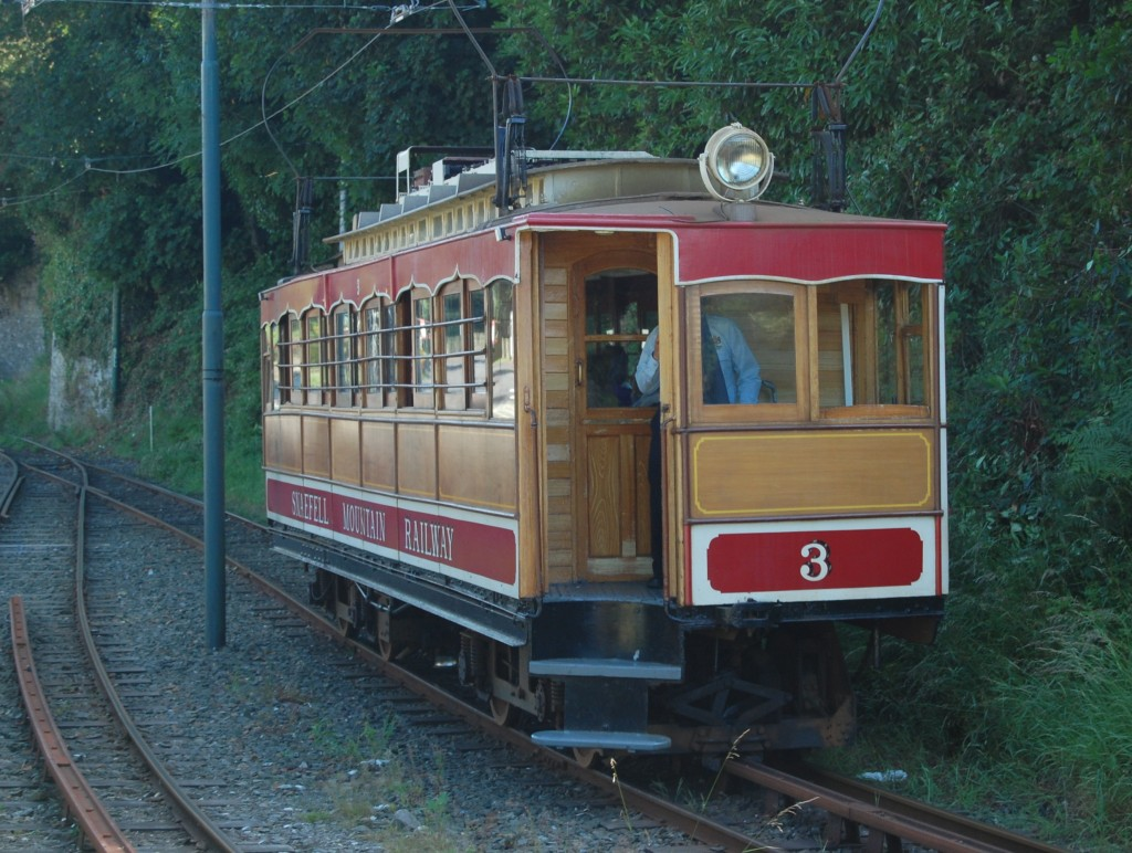 Snaefell Mountain Railway no 3 (2014)