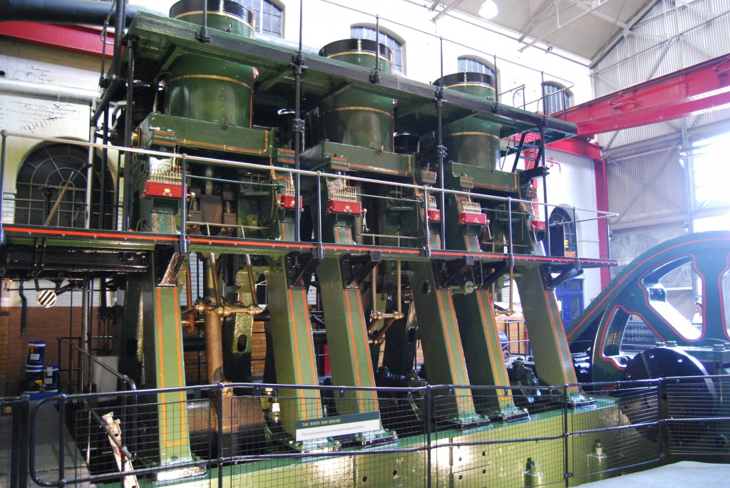 Kelham Island Industrial Museum, Sheffield:  River Don Engine