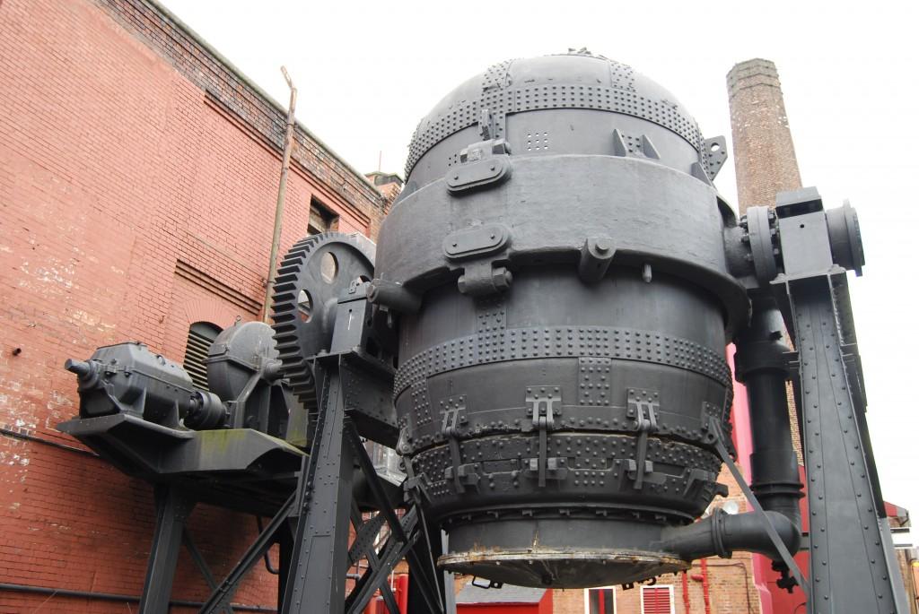 Kelham Island Industrial Museum, Sheffield:  Bessemer Converter